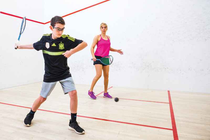 Bellevue Club Racquetball