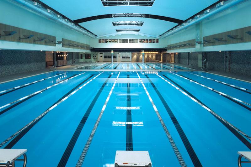 Indoor Pool Aerial