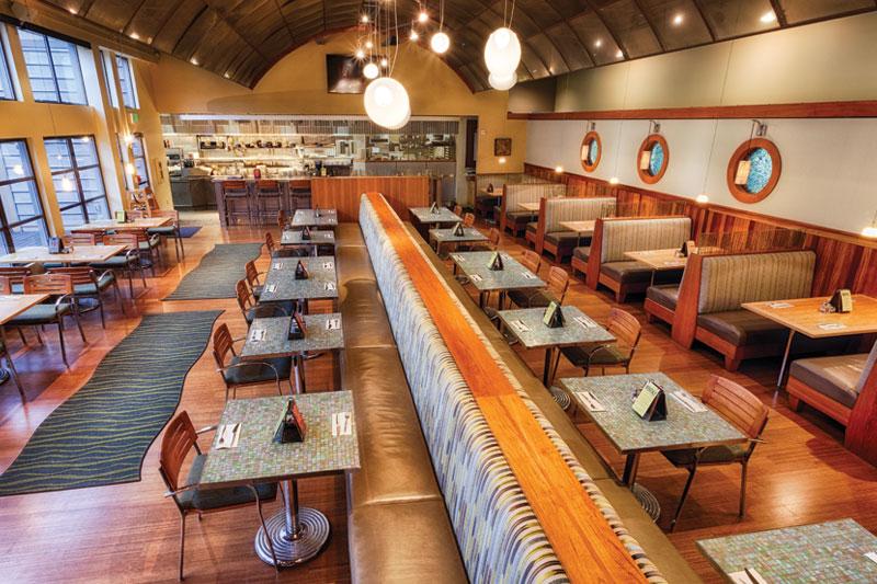 Splash Restaurant Interior