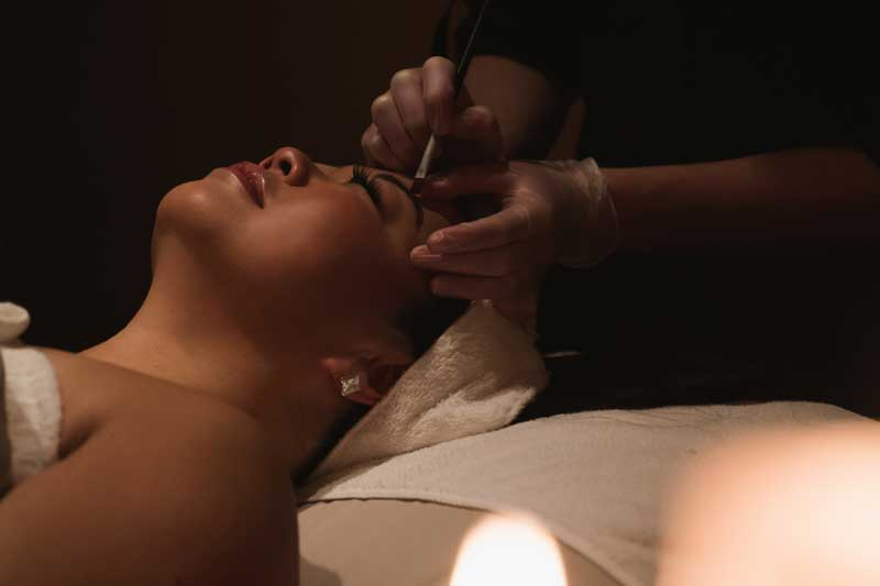 Spa Facial Detail